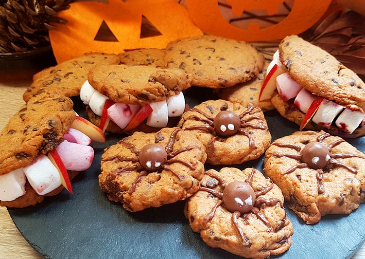 Comment Préparer Des Cookies Araignées et Dentiers