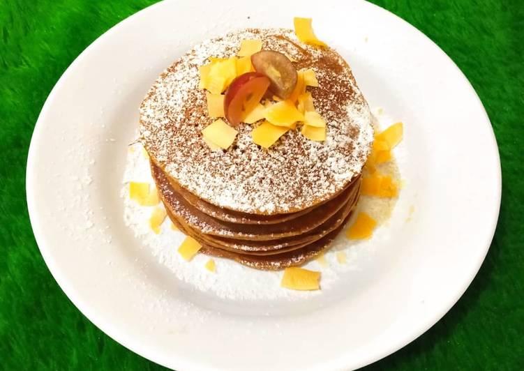 Resep Cinnamon Pancake – Gluten free yang Enak