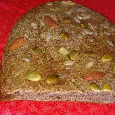 receta de pan con harina de centeno para diabeticos