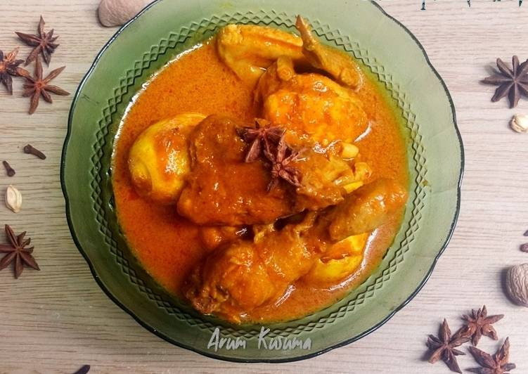 Kari Ayam (India) - cookandrecipe.com