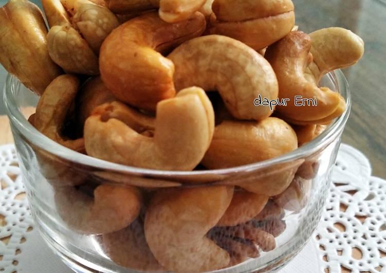 Kacang Mete goreng simple