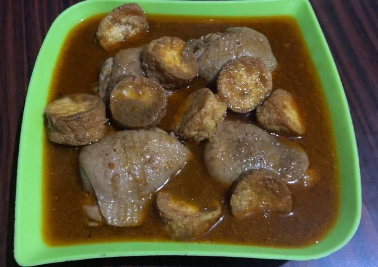 Ayam Gulai Tofu Bumbu Instan Praktis