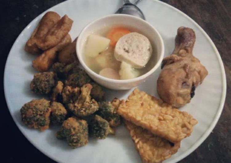 Sayur Sup bening sederhana