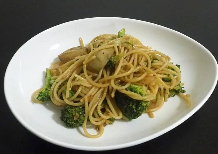 Spaghetti saveurs asiatiques