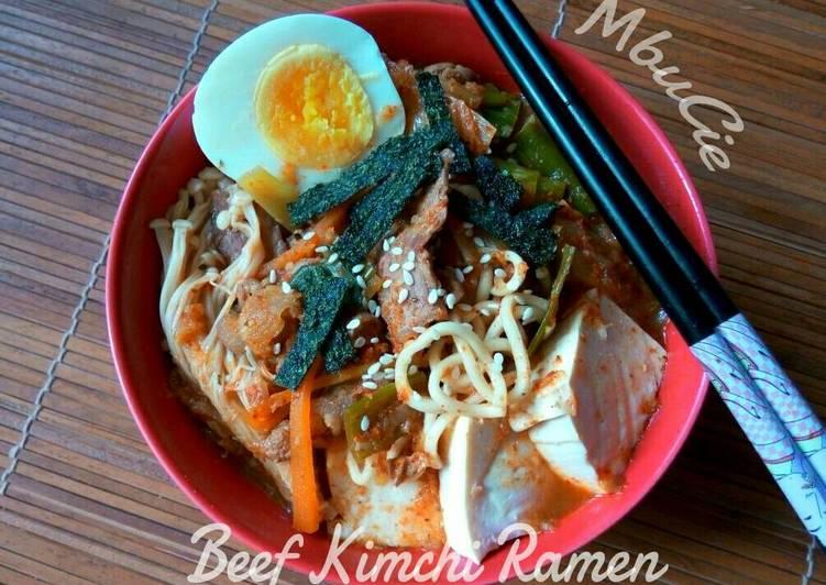 Beef Kimchi Ramen