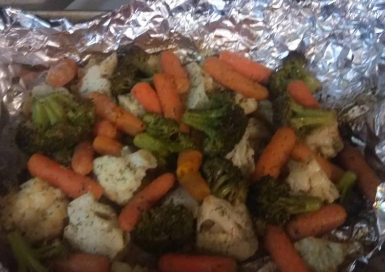 Steps to Make Award-winning Roasted Veggies Medley