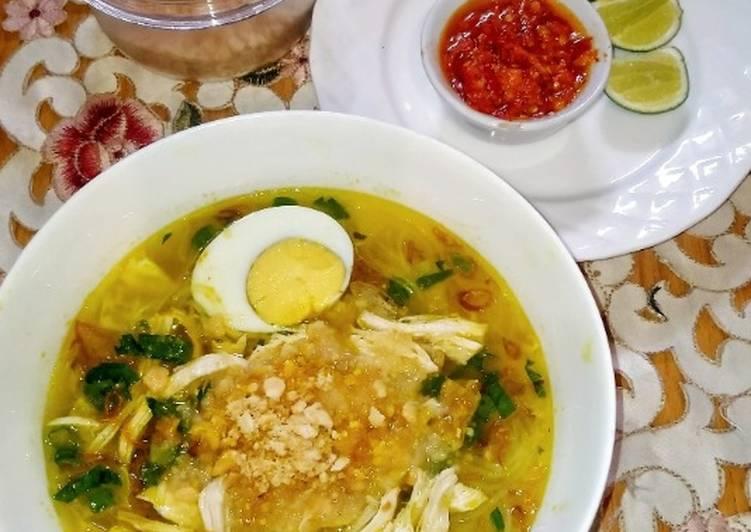 Resep Soto Ayam Lamongan, Lezat Sekali