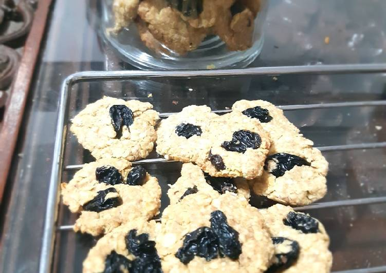 Cookies banana oatmeal untuk diet