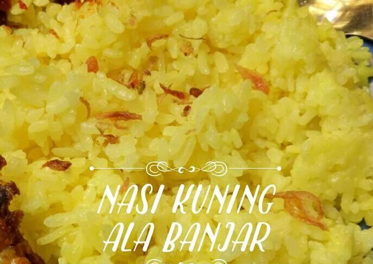 Nasi Kuning Banjar