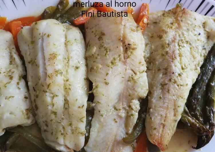 Filetes De Merluza Al Horno Receta De Fini Bautista Angulo