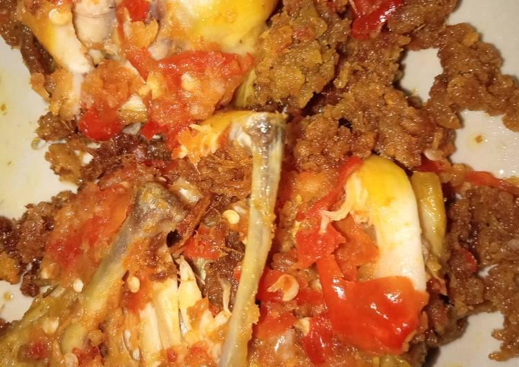 Ayam geprek crispy murah