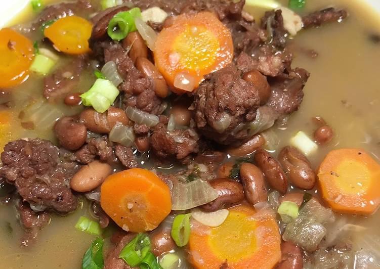 Sup Brenebon Sapi a.k.a Sup Kacang Merah 😍 Wajib Recook 🤗