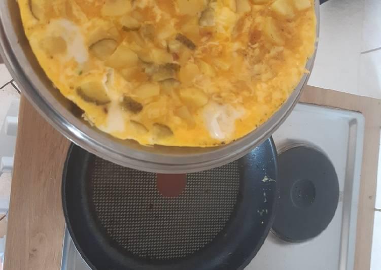 Tortilla mit Blitz-Aioli