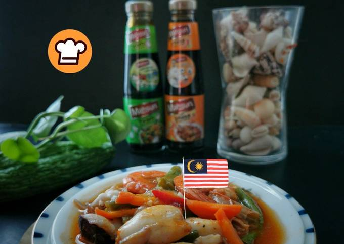 Paprik Sotong Udang