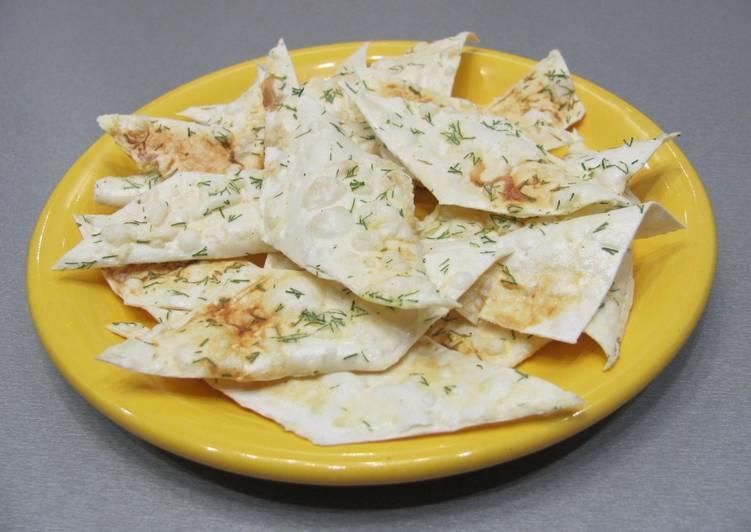 Ароматные чипсы из лаваша в СВЧ - пошаговый рецепт с фото. Автор ...