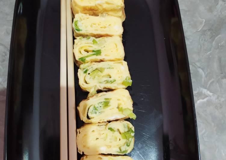 Tamagoyaki (telur gulung korea)