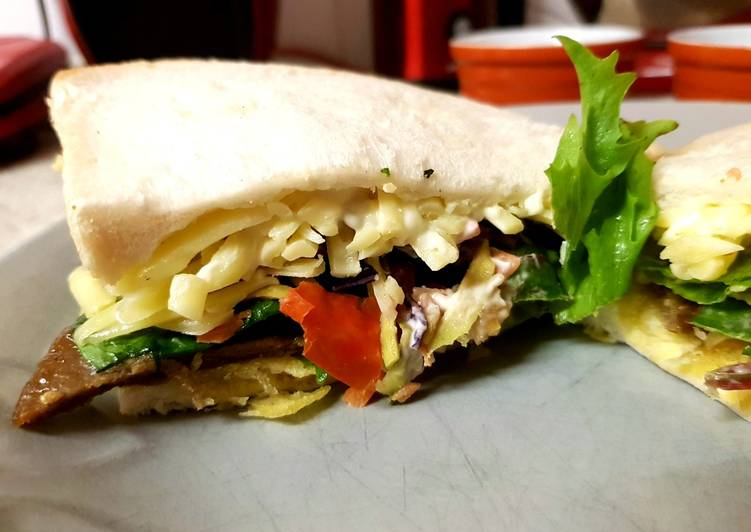 My Big Mixed Sandwich 😙