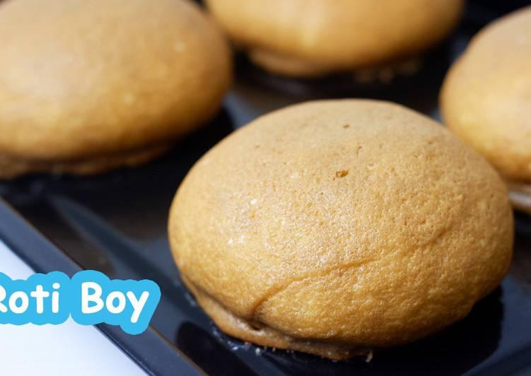 Roti Boy Tanpa Mixer