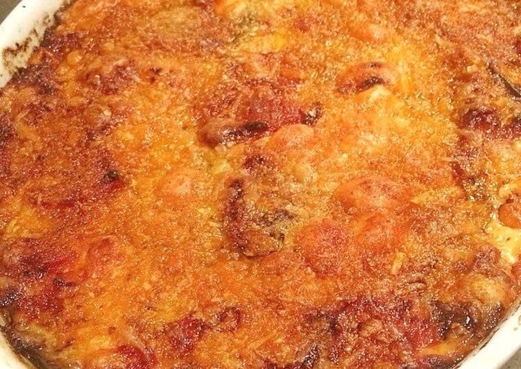 Melanzane alla Parmagiana (Aubergine Parmigiana)