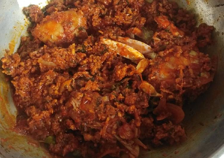 Easiest Way to Prepare Any-night-of-the-week Crab sukka masala