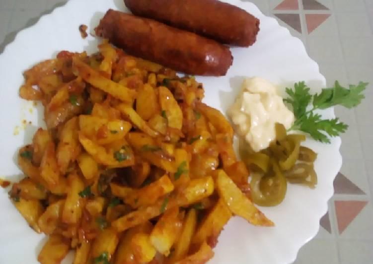 Recipe: Yummy Masala chips