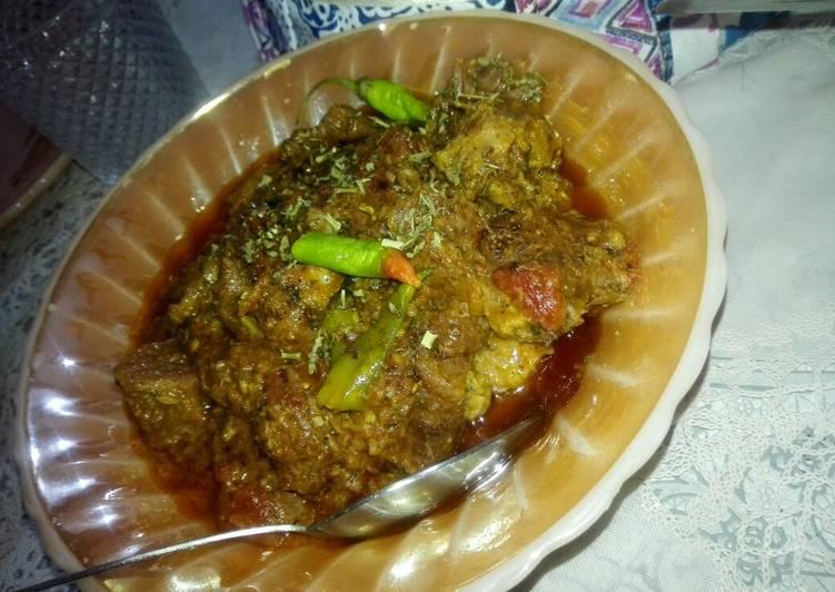 Recipe of Super Quick Homemade Karahi gosht
