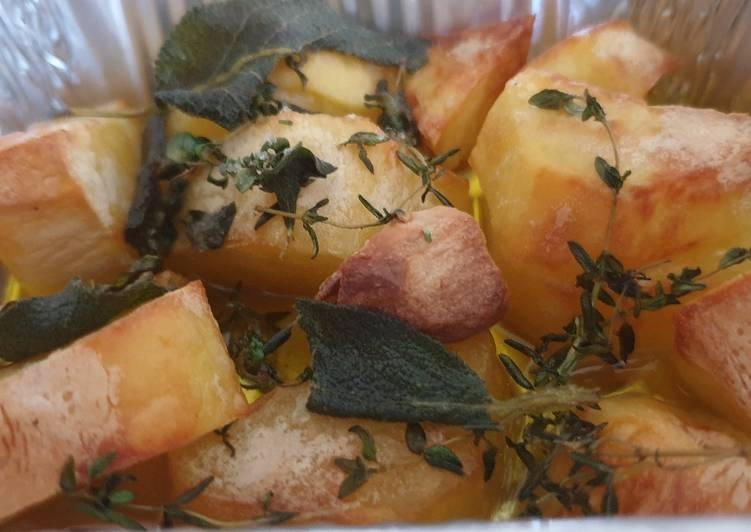 Ricetta Patate al forno al profumo di liguria