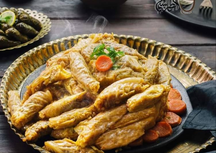 Recipe of Speedy Stuffed_cabbage_in_olive_oil_pomegranate_sauce