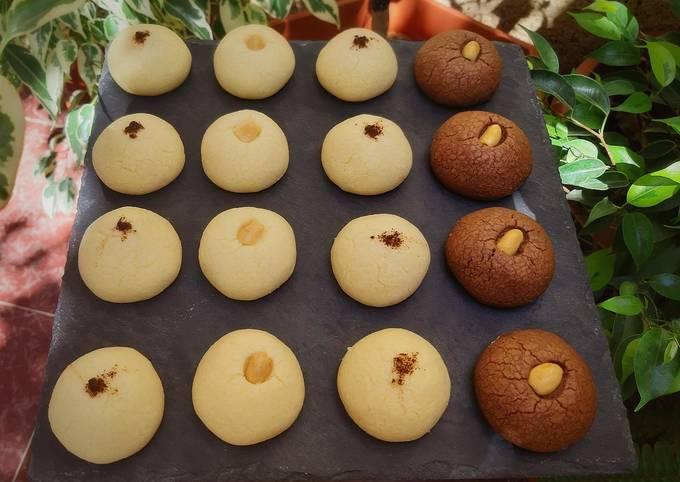 Ghribia vanille/chocolat ☕
