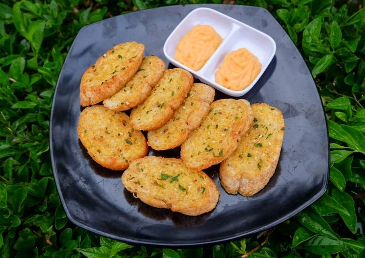 Resep Garlic Bread ala PH Terbaik