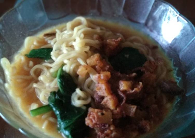 Resep Ramen a.k.a Indomie kuah curry Bikin Laper