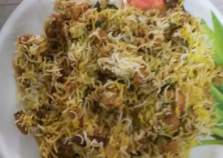 Recipe of Favorite Quick chicken dum biryani