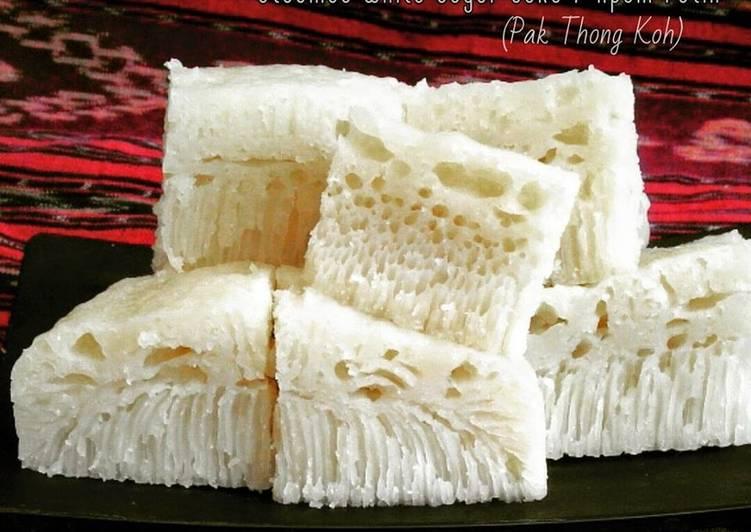 Apem Putih (Pak Thong Ko) Steamed White Sugar Cake - ganmen-kokoku.com
