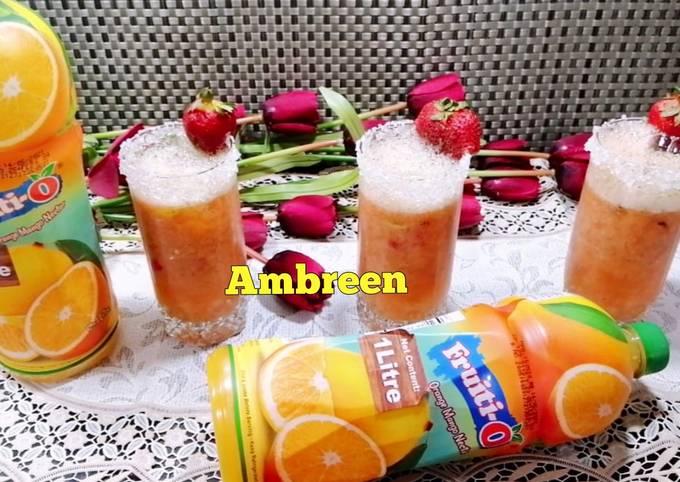 Iftar Refreshing Drink Strawberry Mojito 🤗