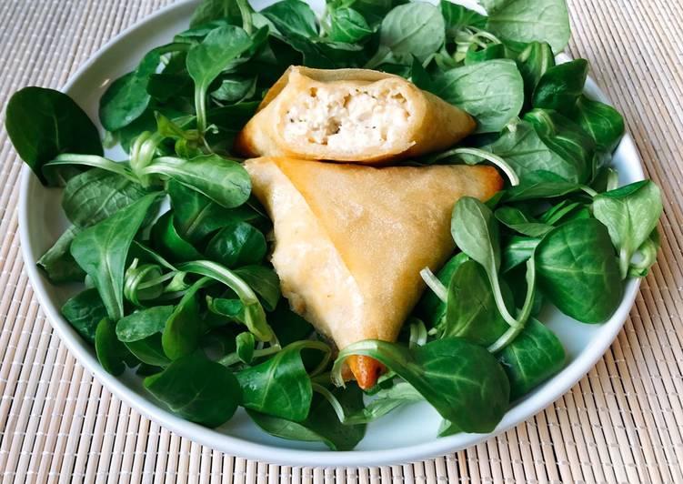 Recipe of Perfect Samoussa poulet fêta au four