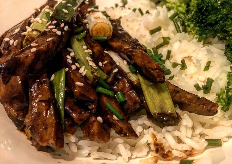 Mongolian Seitan, Some Foods That Help Your Heart