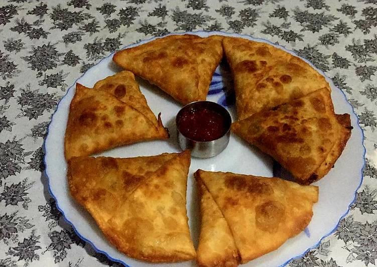 Recipe of Homemade Spilt bengal gram samosa