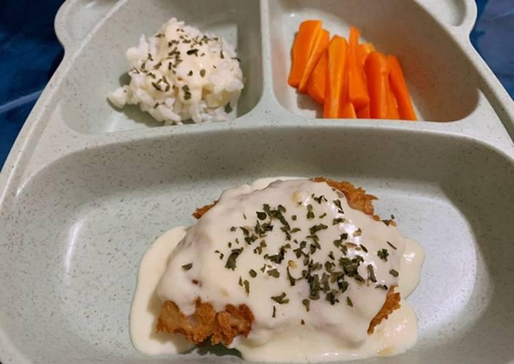 Steak Ikan Saos Creamy Anak 1 Tahun+ Anti GTM