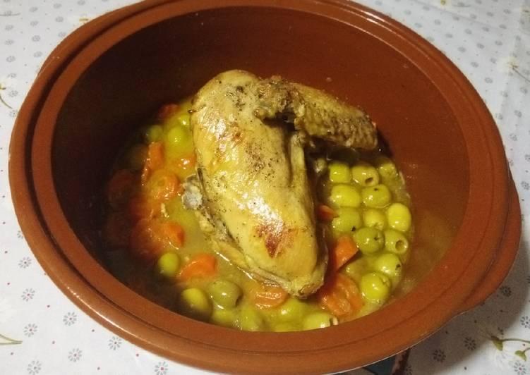 La Délicieuse Recette du Poulet aux olives et carottes �
