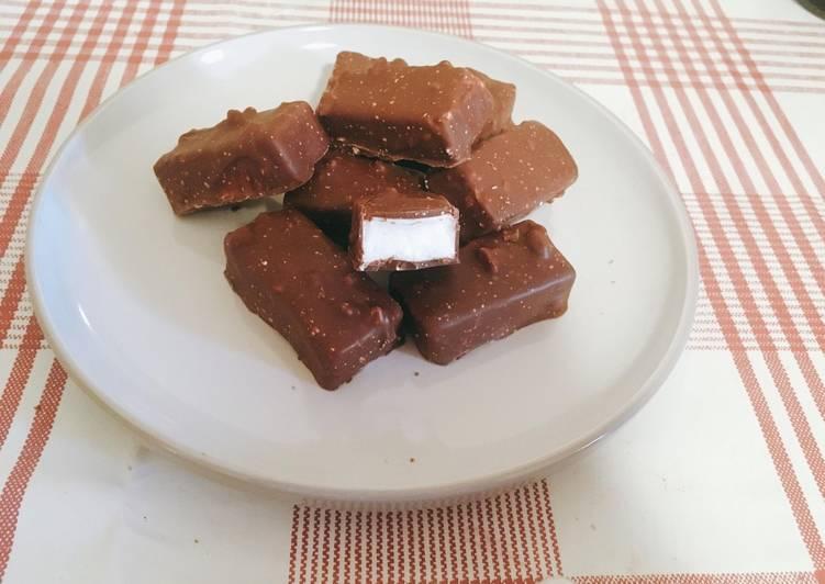 Guimauves chocolat maison