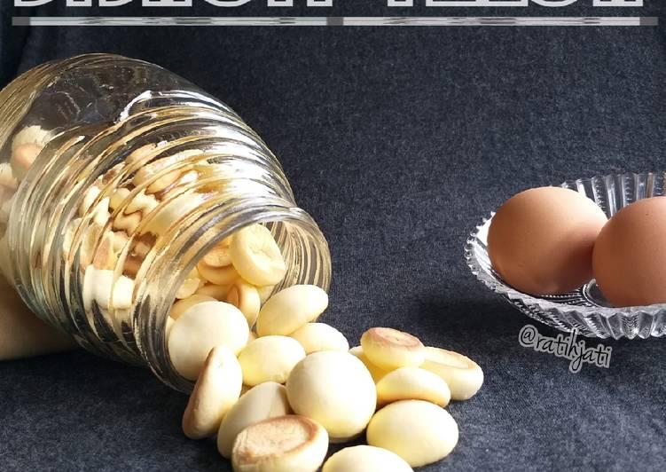 Biskuit Telur 🥚 (Pemula-No Mixer-No Oven)