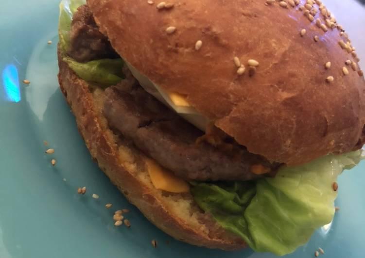 Pain hamburgers 🍔 brioché