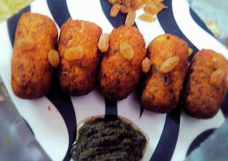 Lotus Stem Kebabs (kebab Nadir Shahi - Laurie G Edwards