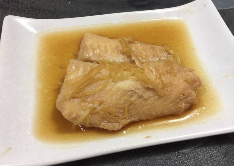 Recipe: Delicious Japanese Simmered Fish