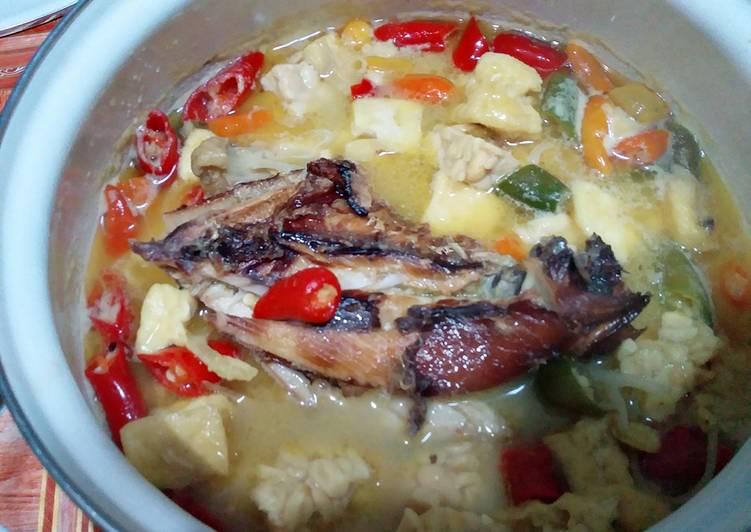Resep Kotokan Tahu Tempe Ikan Tenggiri Asap Oleh Nuryahabibi Cookpad