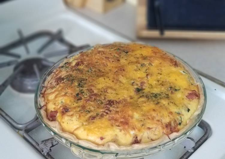 Easiest Way to Make Perfect Spinach Quiche