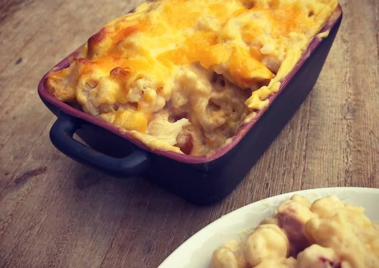 recette Mac&cheese&choux-fleur le délicieux