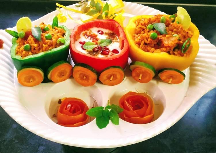 Tomato chilli pulav