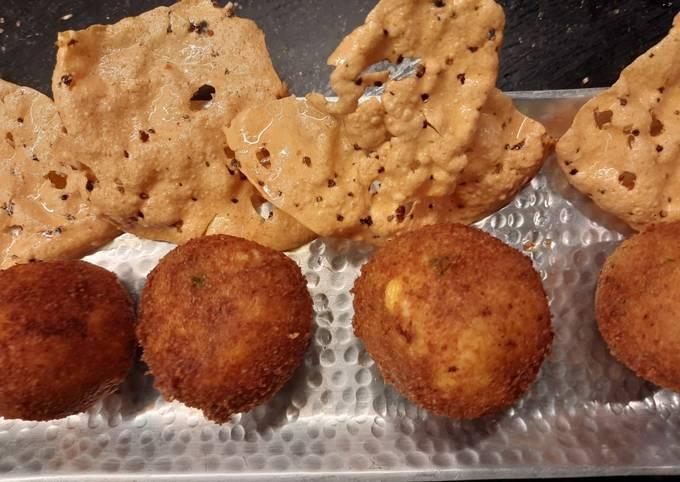 Recipe of Delicious Dal and Rice Balls