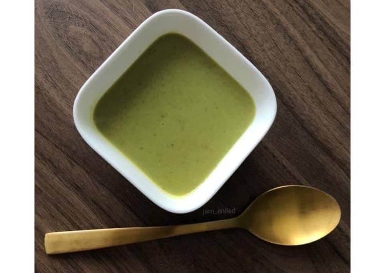 Recette Parfait Soupe courgettes curry 🍵